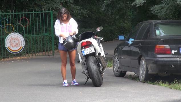 roxana vancea motocicleta