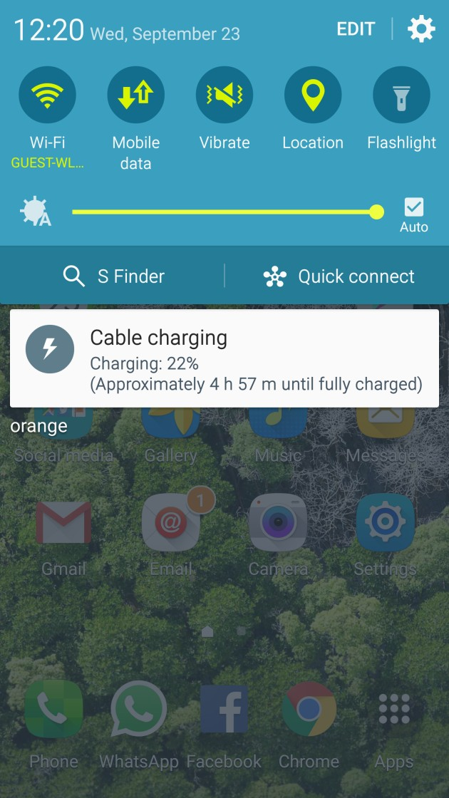 slow charging s6