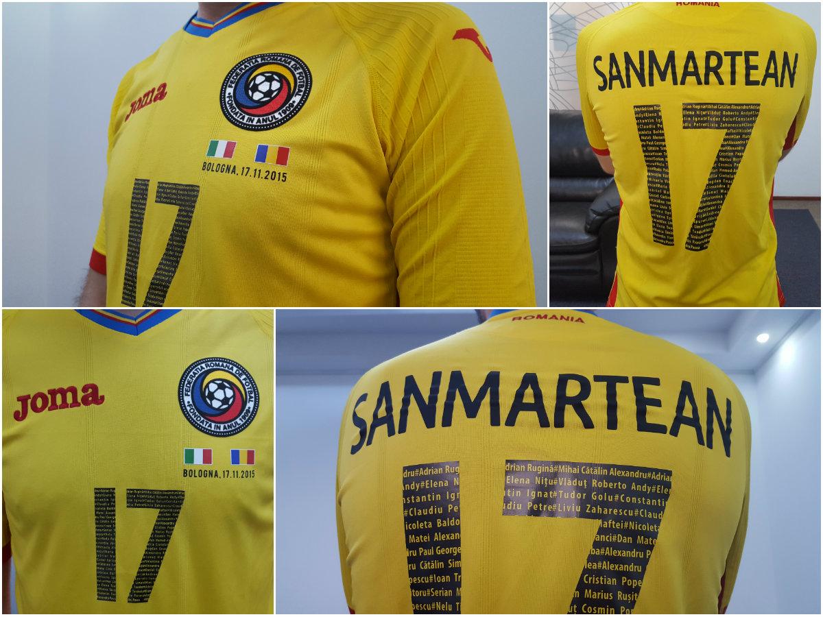 tricou sanmartean