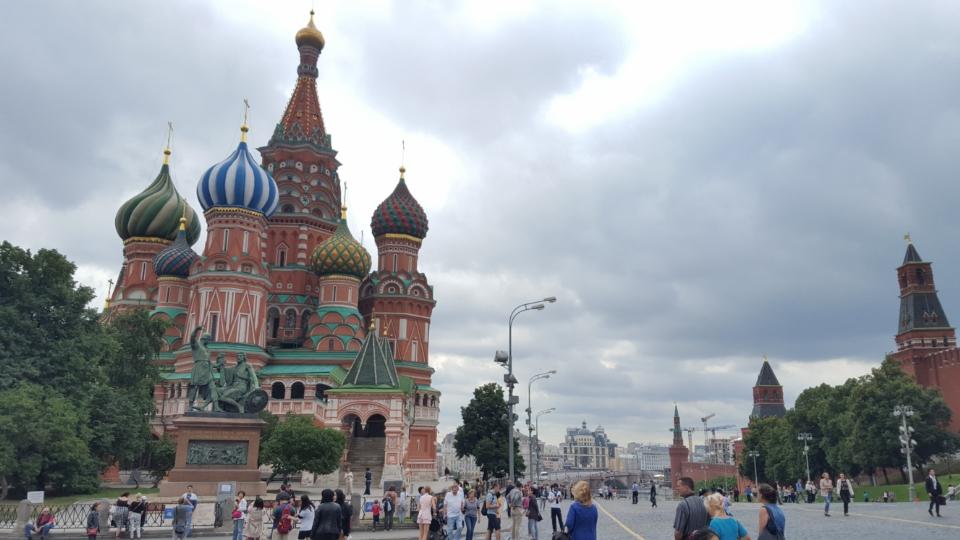 Cel mai cunoscut obiectiv turistic al Moscovei?