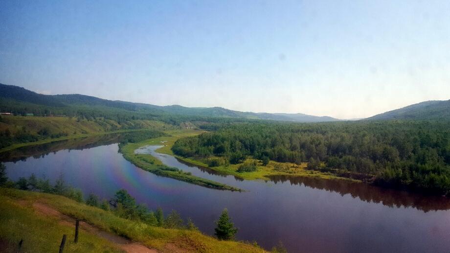 Siberia, prin geamul murdar al Trans-Siberianului