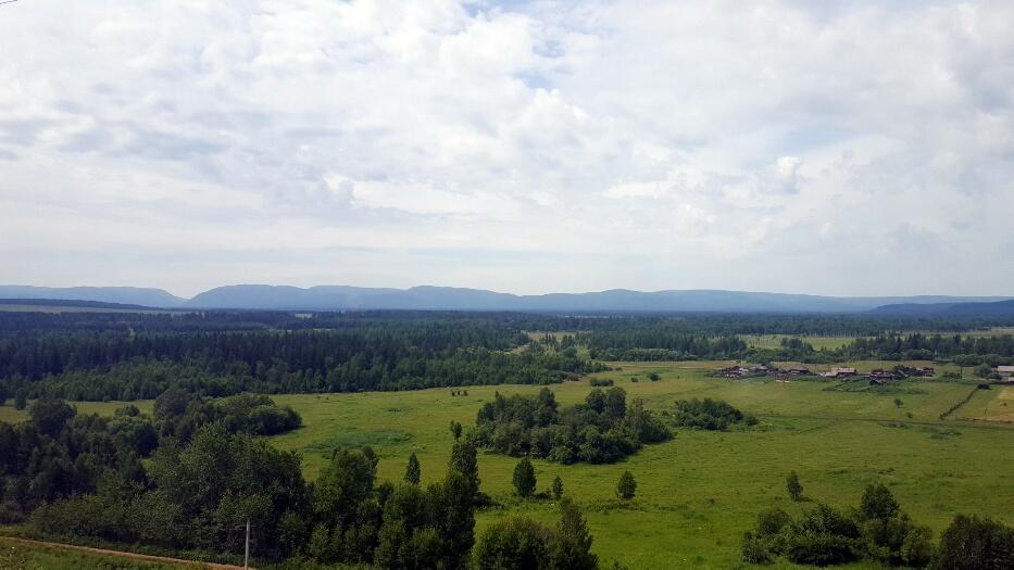 Mii de kilometri de asa ceva, asa e Siberia in iulie