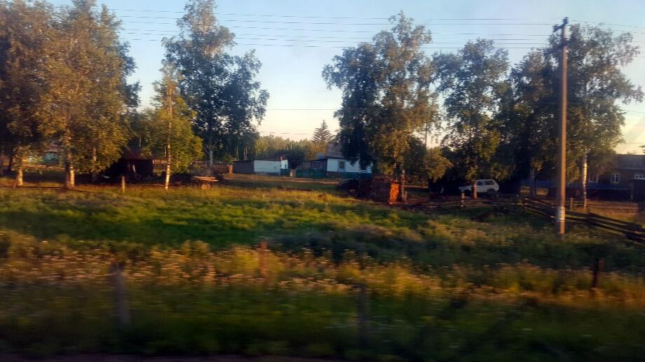 Asfințit într-un sat izolat
