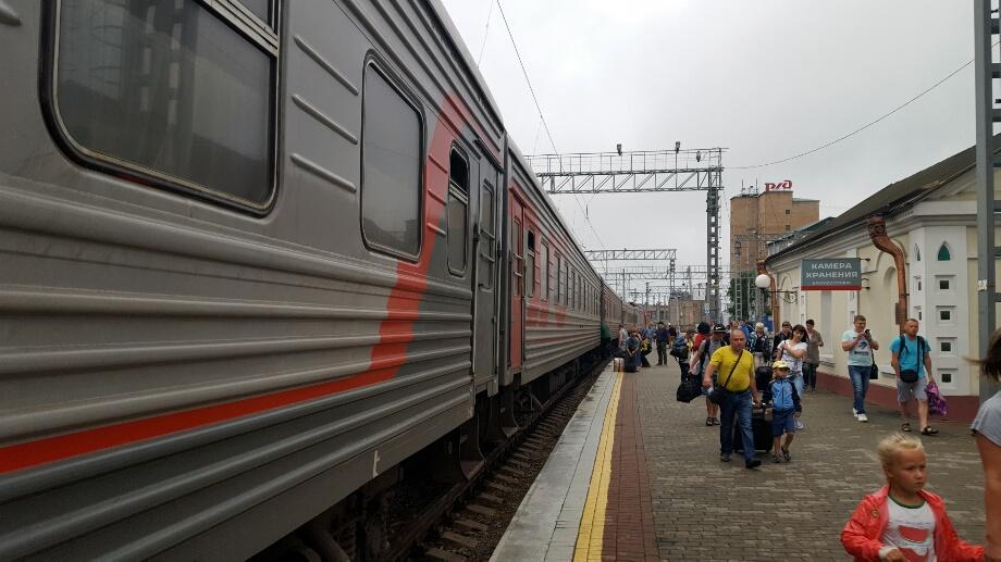 Gata! După o vesnicie, Trans-Siberianul a ajuns în Vladivostok. Mi-a plăcut mult!