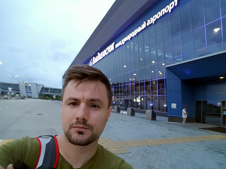 Clădirea aeroportului din Vladivostok nu arată tocmai rău