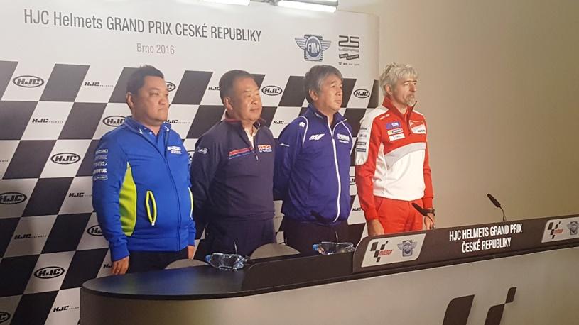 Boșii celor patru echipe importante din MotoGP