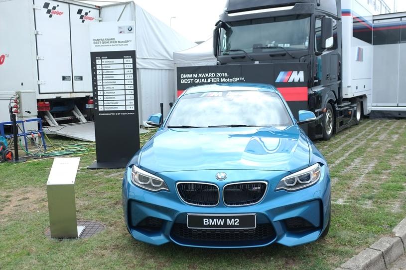 BMW M2 Coupe, premiul pentru cel mai bun pilot al anului in calificari