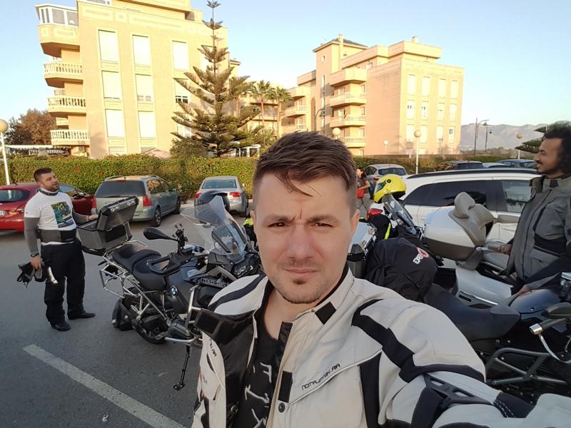 Plecarea din Malaga, aproape cu noaptea-n cap