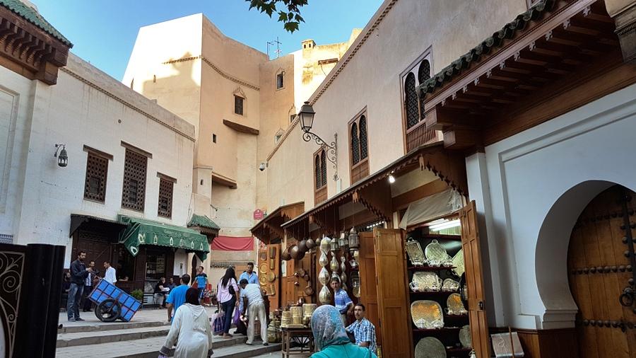 Agitația din Fes Medina