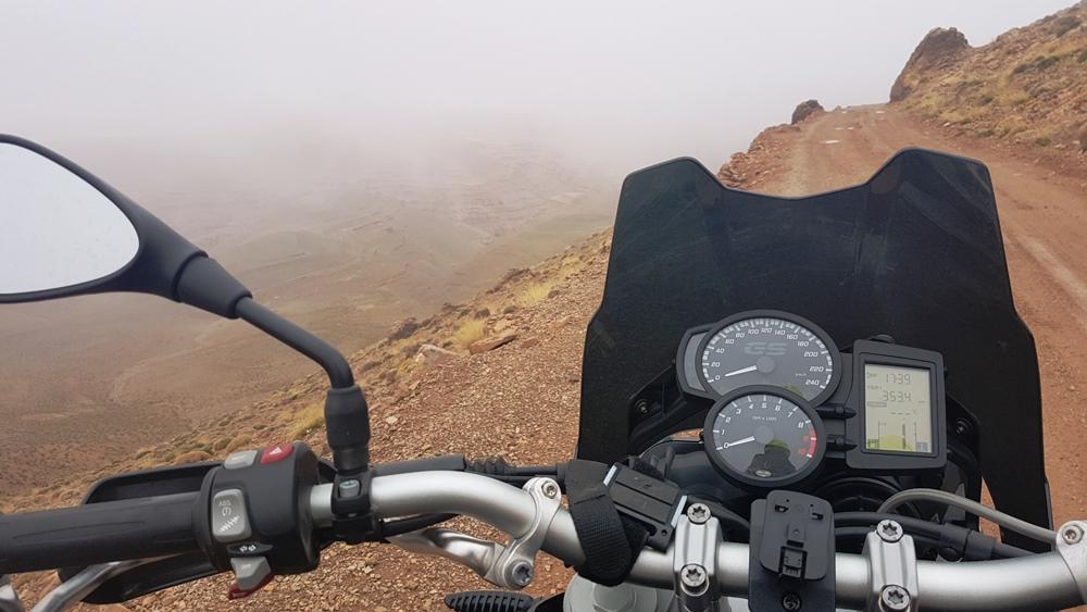 Ceață la peste 2700 de metri altitudine