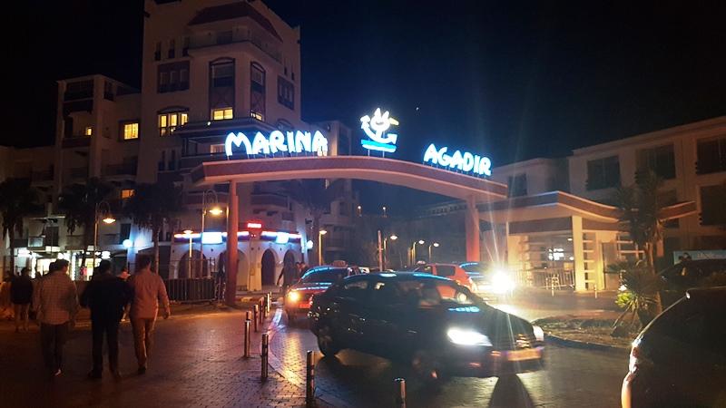 Intrarea în Agadir Marina