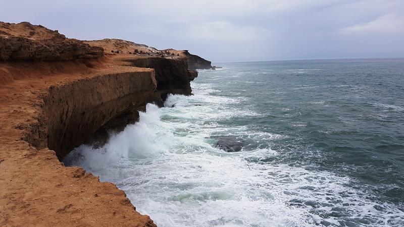 Coastă lovită de Atlantic