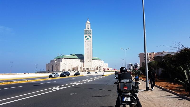 Singura poză de pe drum, din lipsă de chef. Casablanca stuff